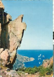France, Calanche de Piana 1962 used Postcard