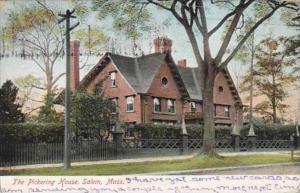 Massachusetts Salem The Pickering House 1907
