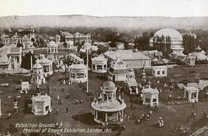 UK - England, London, Festival of Empire Exhibition 1911 Exhibition Grounds