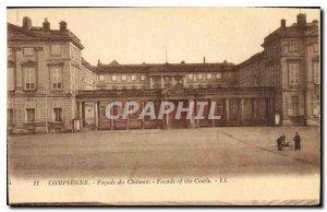 Old Postcard Compiegne Facade du Chateau