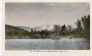 RP, Bird's Eye View, Mt. Cheam from Harrison Lake, B.C., Canada, PU-1939