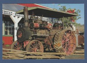 Advance Steam Engine Post Card Farm Equipment Early Tractor
