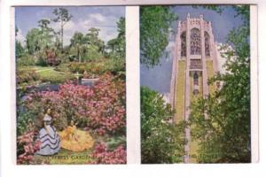 Twoview, Women, Bok Tower, Cypress Gardens Florida, Record Press
