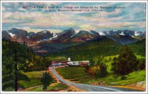 CO - Estes Park Village, Rocky Mt Nat Park