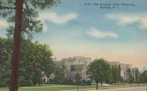 DURHAM , North Carolina , 1930-40s ; Hospital , Duke University