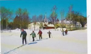 New Hampshire Jackson Ski Touring In The Village
