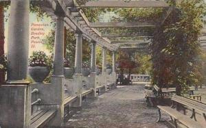 Illinois Peoria Pompetan Garden Brandley Park