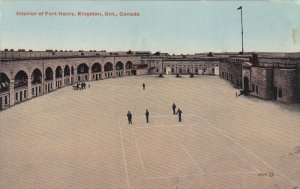 KINGSTON, Ontario, Canada, PU-1916; Interior Of Fort Henry