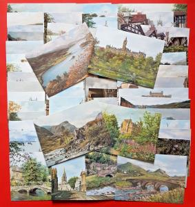 Beautiful Collection of 67 Brand New UK Art Postcards by Sue Firth & Pat Bell