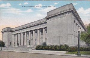Indiana Indianapolis Public Library 1949