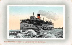 10767 Steamer Rapids King in Lachine Rapids, Montreal