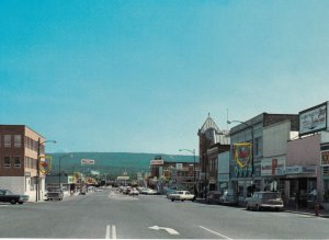 CRANBROOK , B.C., 50-60s ; Main street