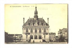 La Mairie, Vincennes (Val-de-Marne), France, 1900-1910s