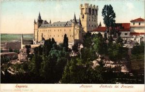 CPA SEGOVIA Alcazar Fachada del Poniente SPAIN (674363)