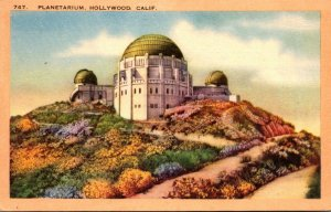 California Hollywood Planetarium Griffith Observatory 1946