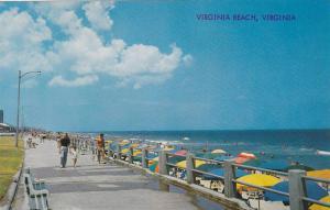Scenic Greetings from Virginia Beach,  Virginia,  40-60s