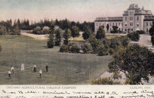 GUELPH , Ontario , Canada , 00-10s ; Ontario Agricultural College Campers
