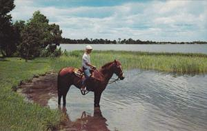Horseback Riding , Lake Jackson , SEBRING , Florida , 50-60s