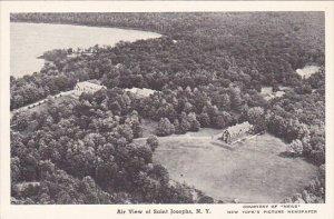 Air View Of Saint Josephs New York Albertype