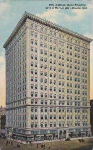 Nebraska Omaha City National Bank Building 1911