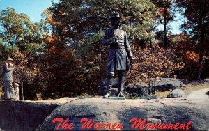 Pennsylvania Gettysburg Little Round Top and Warren Monument