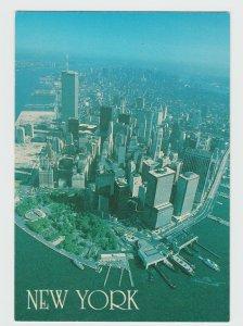 Manhattan Island New York City Postcard
