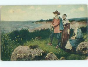 Divided-Back GREAT SCENE Greeting Postcard AA7062