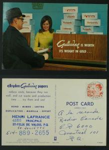 Gullwing papers advert Centennial Ste Anne-de-Beaupre SON...