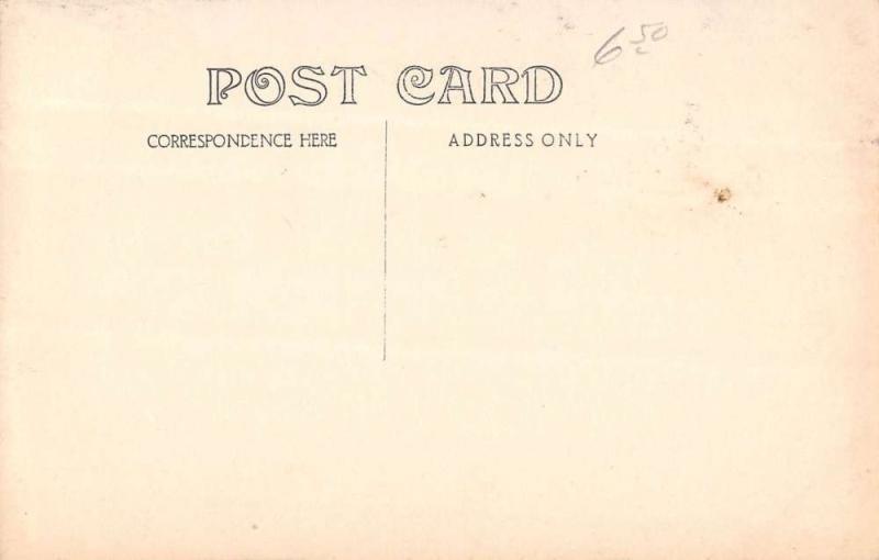Cranberry Isle Maine Coast Boats Real Photo Antique Postcard K9623