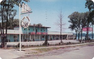 New York Cooperstown Lake Front Motel 1957 sk6055