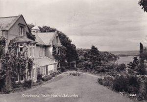 Overbecks Youth Hostel Salcombe Devon Real Photo Postcard