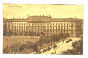 Leipzig , Germany, 00-10s ; Hauptpost