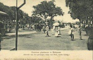 indonesia, CELEBES SULAWESI MAKASSAR, Entry Arrested Rajah of Boni (1907)