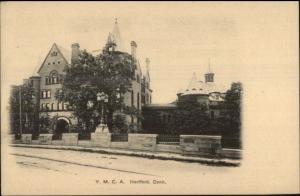 Hartford CT YMCA c1905 Postcard