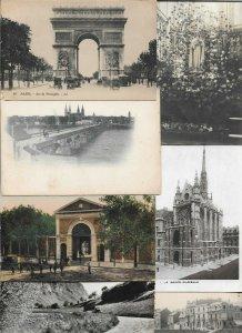 France Moulins Paris Toulon Versailles And More Postcard Lot of 50 01.09