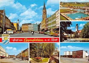 Gruss aus Eggenfelden Rott Street Shops Schwimmbad Kirche Theater Auto Cars