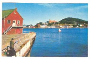 Gaspe Harbor As Seen From Davis's Wharf, Gaspe, Quebec, Canada, 40-60s