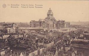 Belgium Brussells Bruxelles Panoramaic Palace Of Justice Panorama