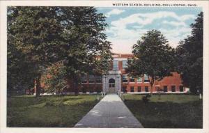Ohio Chillicothe Western School Building