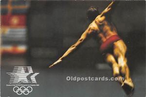 Diving, 1984 Los Angeles Olympics Los Angeles, California, CA, USA Olympic Un...
