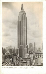 USA Empire State Building New York City RPPC  06.43