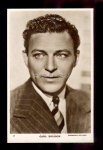 b0512 - Film Actor - Carl Brisson - No.6 - Paramount Pictures - postcard