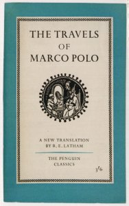 The Travels Of Marco Polo 1958 Book Postcard