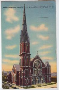 Warren Memorial Church, Louisville KY