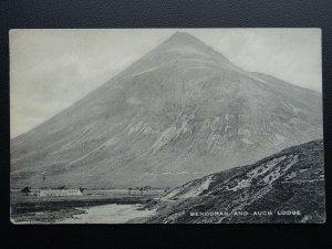 Scotland Argyll and Bute BENDORAN & AUCH LODGE c1915 Old Postcard by Valentine