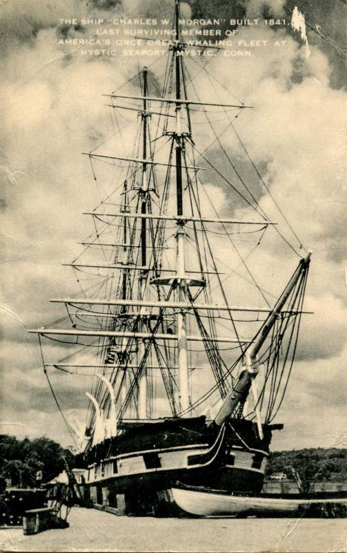 CT - Mystic Seaport. The Ship Charles W Morgan