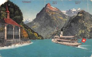 Switzerland Tellskapelle Lake Boat Ship