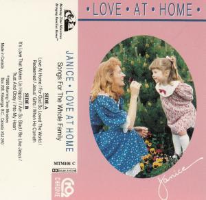 BC: KITWANGA , B.C. , Canada , 1990 ; Janice - Love at Home , Songs