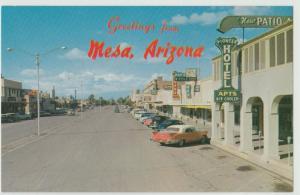 MESA AZ nr Phoenix SOUTH MacDonald PETLEY Postcard