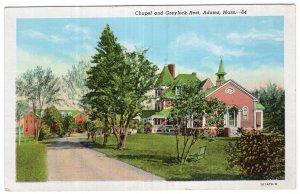 Adams, Mass, Chapel and Greylock Rest